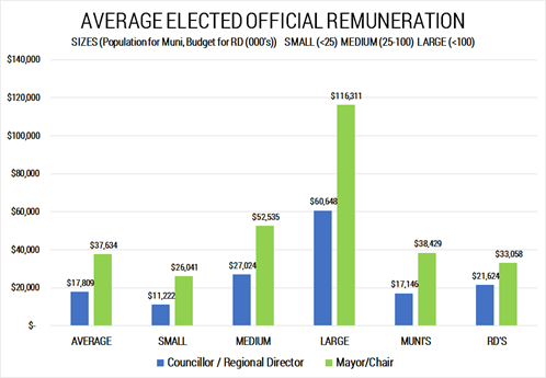 2019 Q1 Elected Official Remuneration Graph