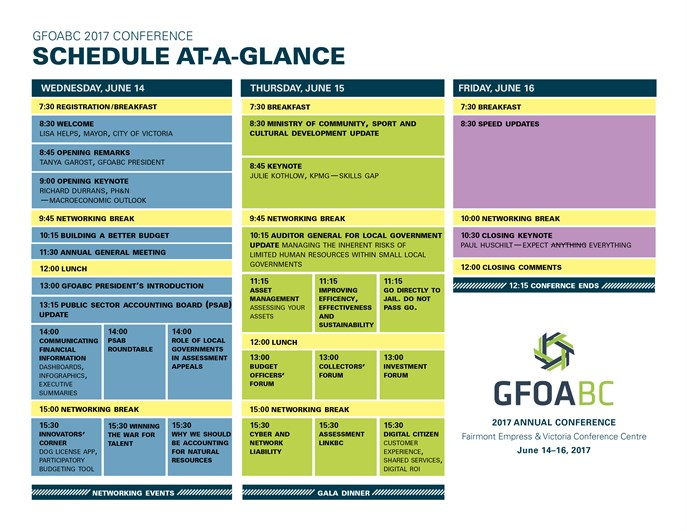 Conference At A Glance For Website